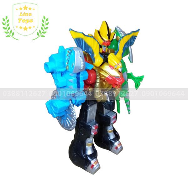 Robot siêu nhân gao quái thú đồ chơi