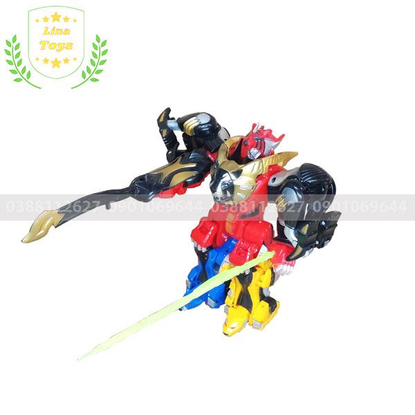 Robot siêu nhân mãnh thú đồ chơi