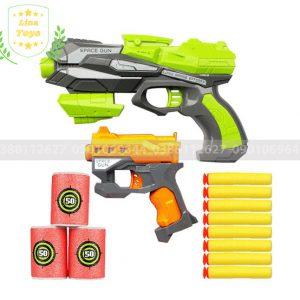 Súng đồ chơi bắn đạn xốp Soft Gun