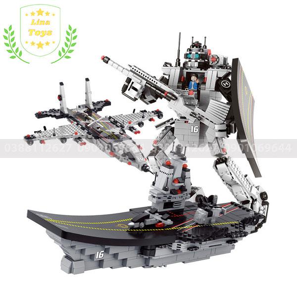 Tàu chiến lego 27 mô hình