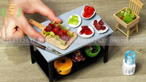 Bộ đồ chơi nấu ăn mini