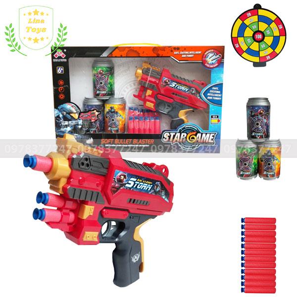 Bộ đồ chơi súng nerf lục