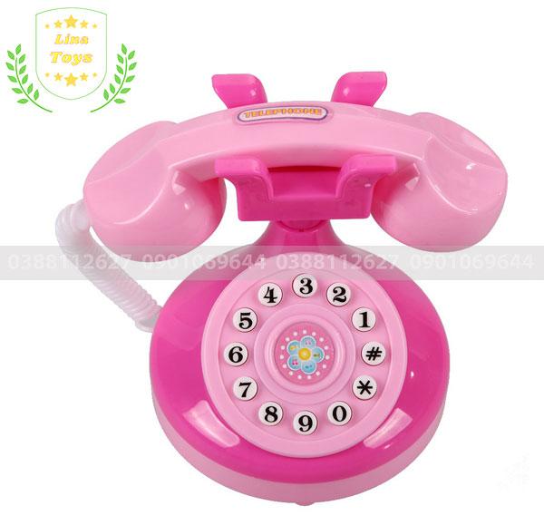 Điện thoại bàn đô chơi cho bé