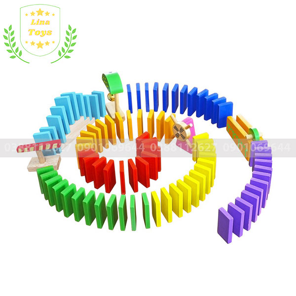Đồ chơi xếp hình domino