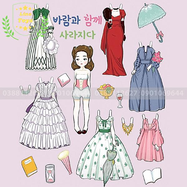 Hình búp bê giấy Hàn Quốc ( Hình 3 )