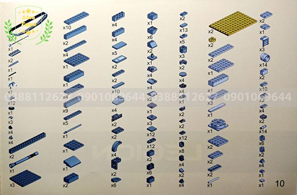Hướng dẫn lắp ráp lego xe tăng 3660 ( Trang 10 )