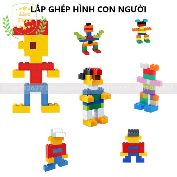Lắp ghép lego 1000 chi tiết ( Chủ đề hình người )