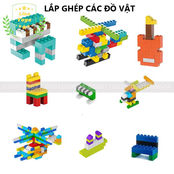 Lắp ghép lego 1000 chi tiết ( Chủ đề đồ vật )