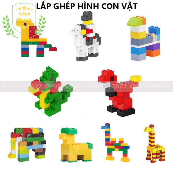 Lắp ghép lego 1000 chi tiết ( Chủ đề con vật - hình 1 )