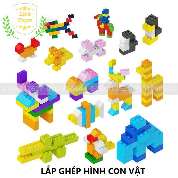 Lắp ghép lego 1000 chi tiết ( Chủ đề con vật - hình 2 )