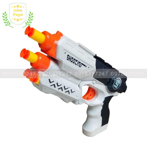 Súng đồ chơi giá rẻ bắn đạn xốp