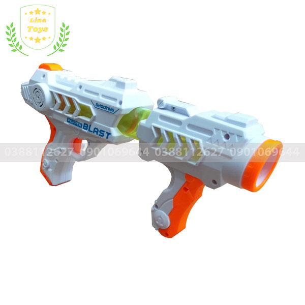 Đồ chơi súng bắn đạn xốp tròn cho bé