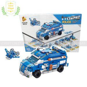 Lego cảnh sát – Lắp ghép được nhiều mô hình