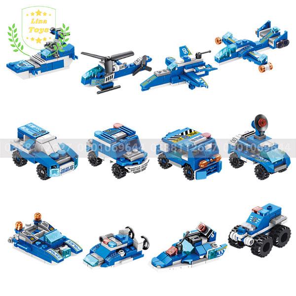 Mô hình lego cảnh sát