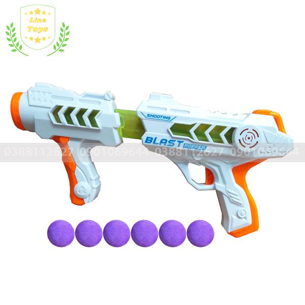 Súng đồ chơi bắn đạn xốp tròn