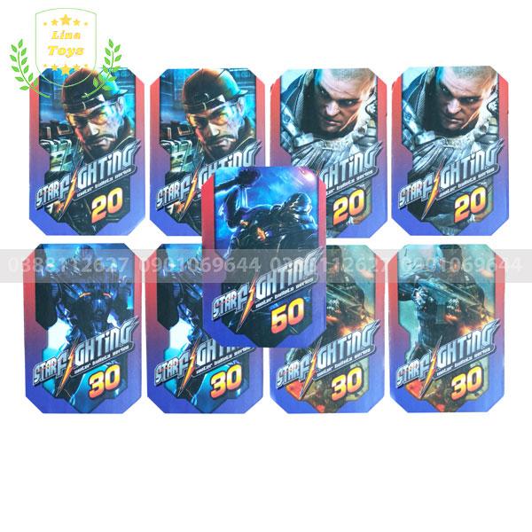 Thẻ bài tập bắn cho súng Nerf Rival