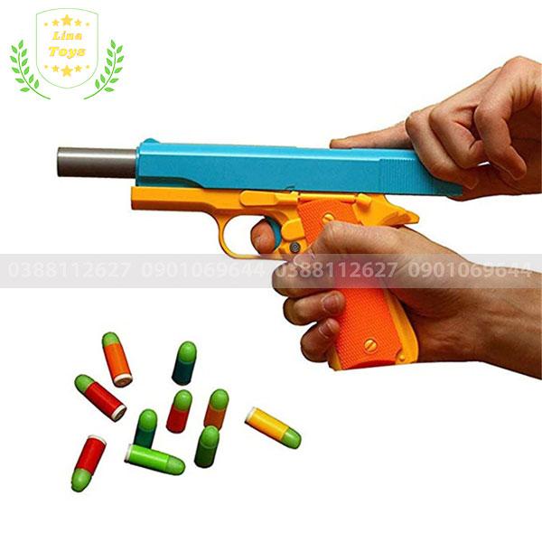Đồ chơi súng bắn đạn nhựa