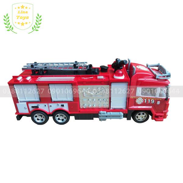 Đồ chơi xe cứu hỏa phun nước