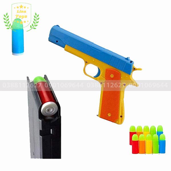 Súng đồ chơi bắn đạn nhựa