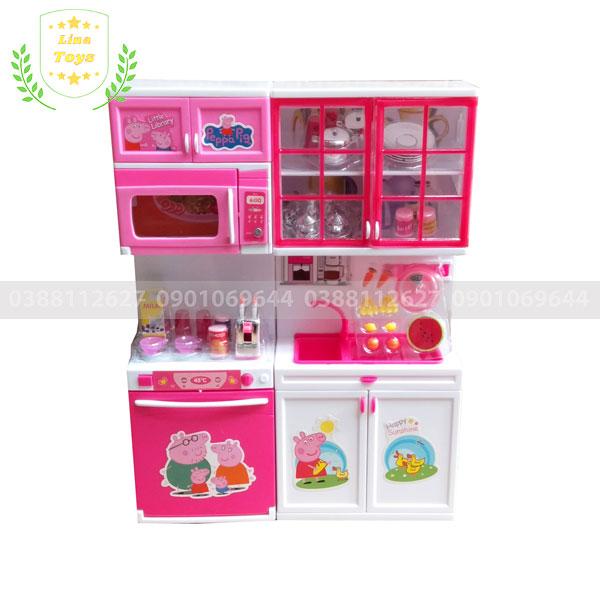 Tủ bếp trong bộ đồ chơi Heo Peppa