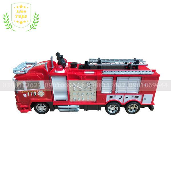 Xe cứu hỏa điều khiển phun nước