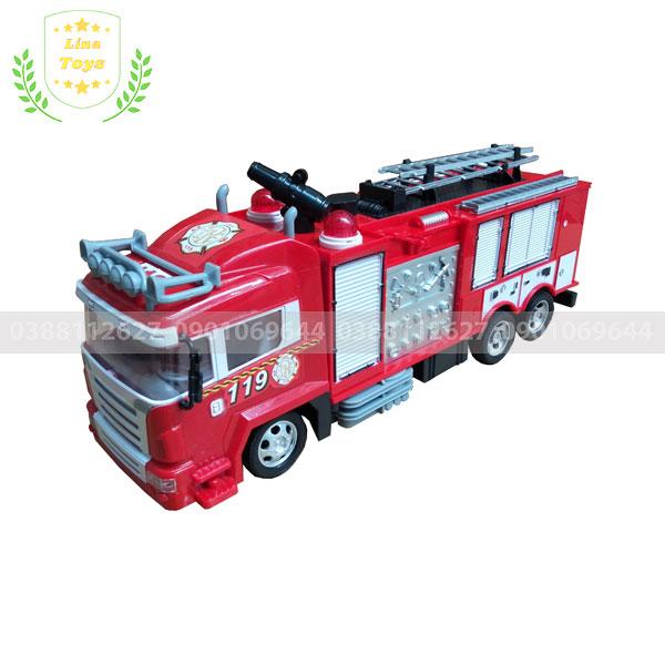 Xe cứu hỏa đồ chơi phun nước