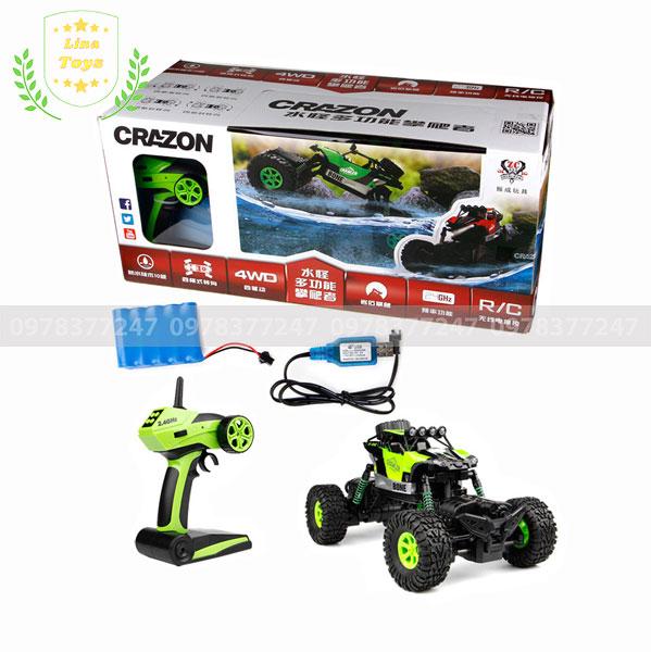 Bộ đồ chơi xe địa hình điều khiển chống nước