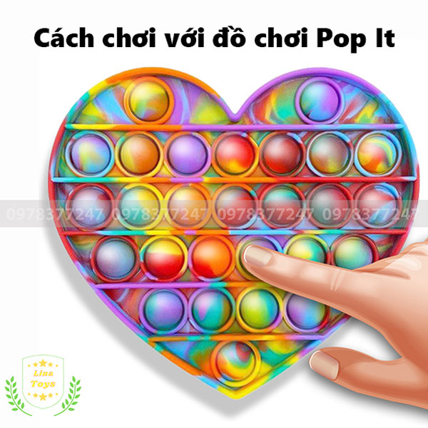 Cách chơi Pop It