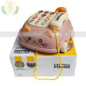 Điện thoại đồ chơi hình con mèo